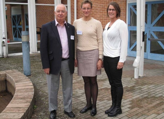 Seminar speakers, from the left:  Martin Williams (EBS) with Ulrica Larsson (EBP) and Karin Andersson (Techtank)